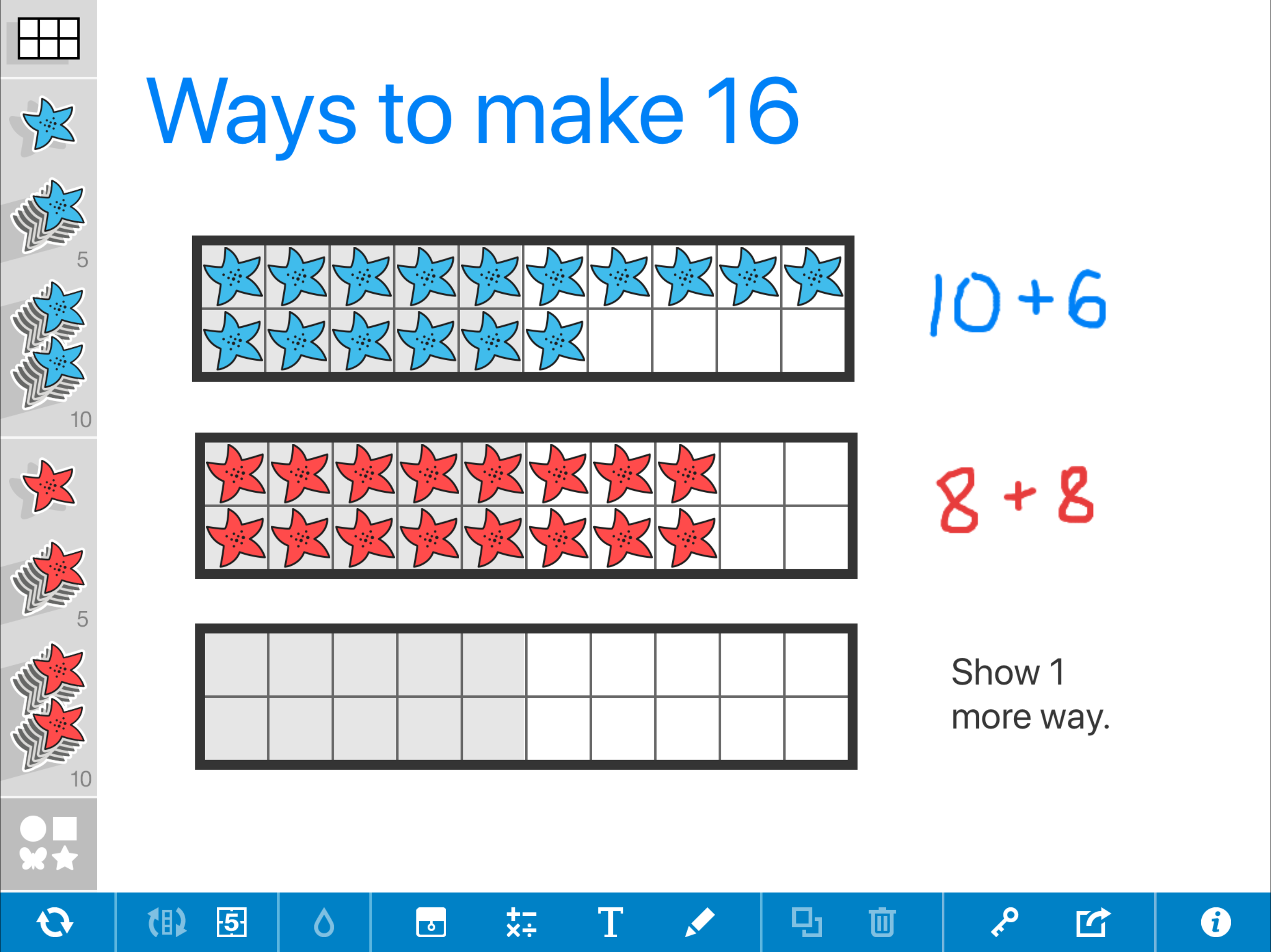 Number Frames by The Math Learning Center